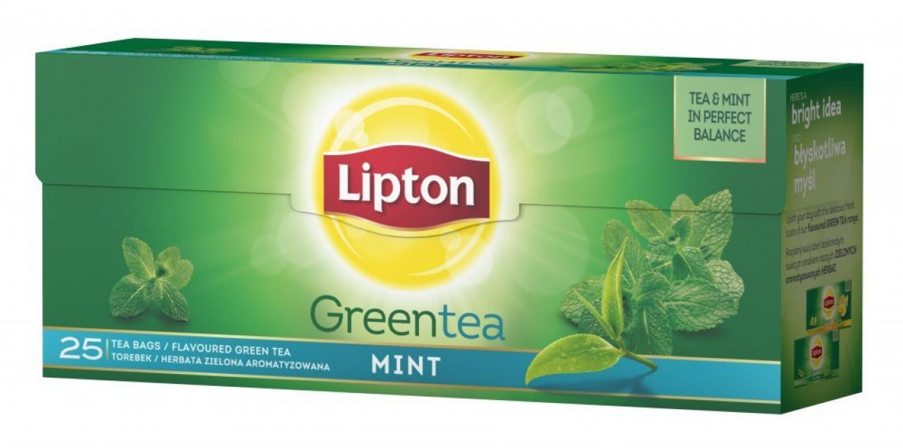 Herbata LIPTON GREEN TEA MINT 25TB