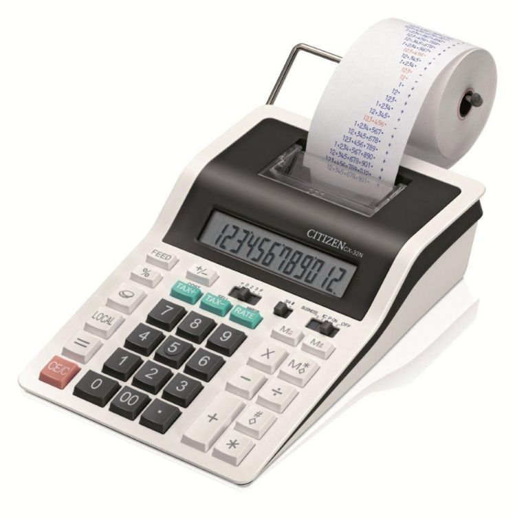 kalkulatory z drukarką