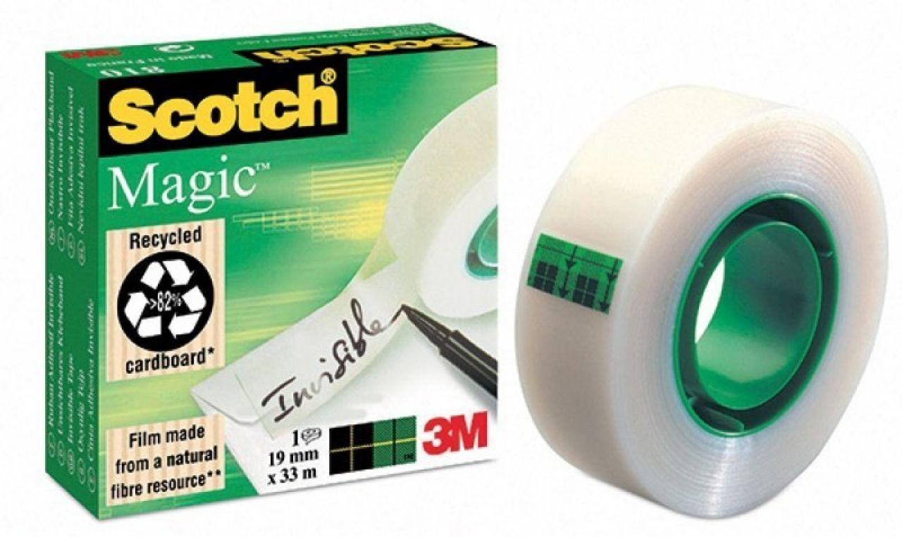 Taśma biurowa Scotch® Magic 19mm x33m mleczna
