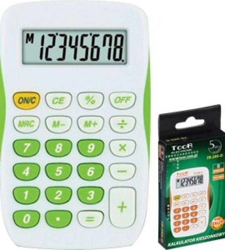 kalkulatory kieszonkowe, nabiurkowe