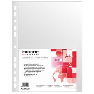 KOSZULKA KRYSTALICZNA OFFICE PRODUCT A4 40 MIC. (100)