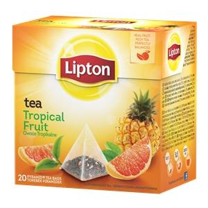 HERBATA LIPTON TROPICAL FRUIT PIRAMIDKI 20TB