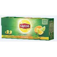Herbata LIPTON GREEN TEA CITRUS 25TB
